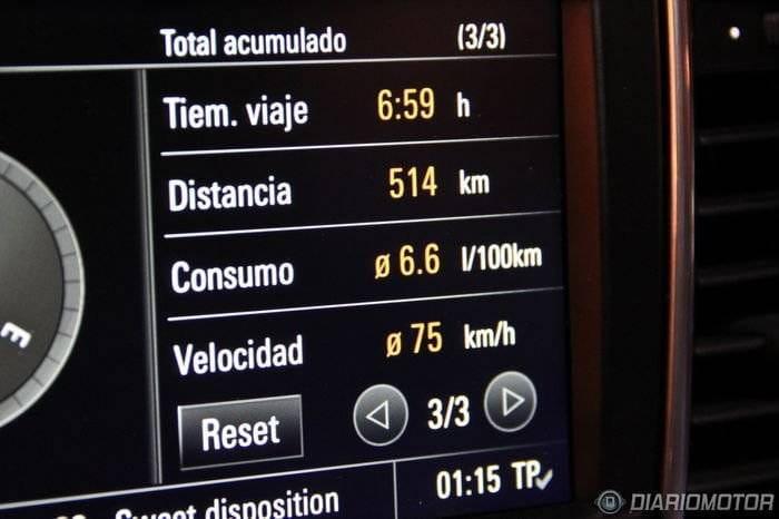 Porsche Panamera Diesel, a prueba (II)