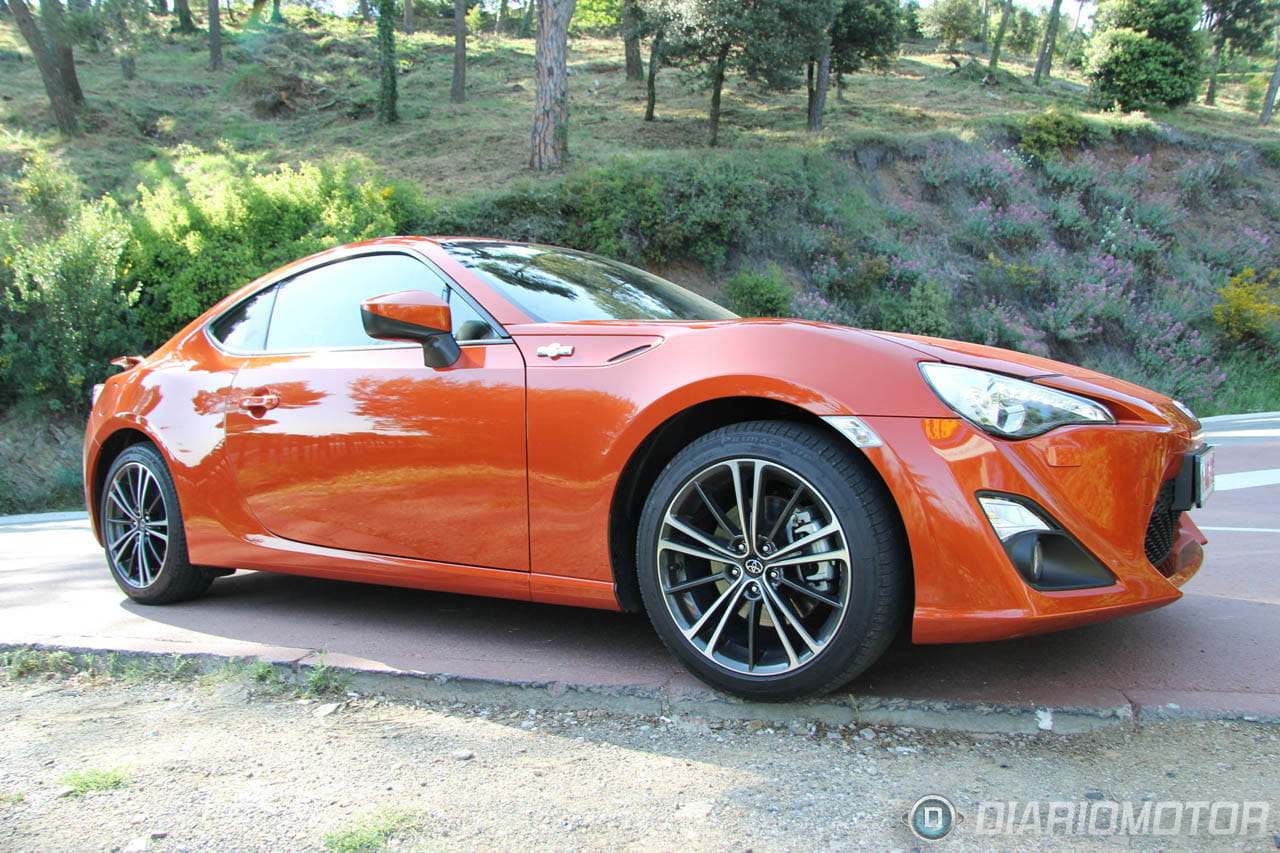 Toyota gt 86 prueba y presentaci n en barcelona i for Toyota 86 exterior mods