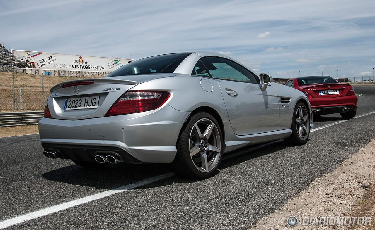 Los ltimos deportivos mercedes amg a prueba en el jarama for Mercedes benz deportivo