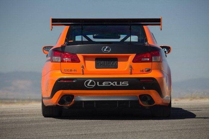 Lexus IS F CCS-R Pikes Peak 2012