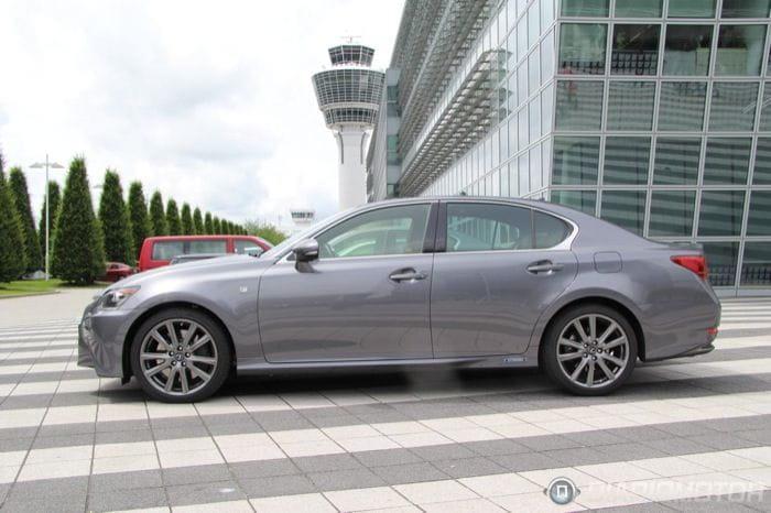 Prueba Lexus GS 450h 2012