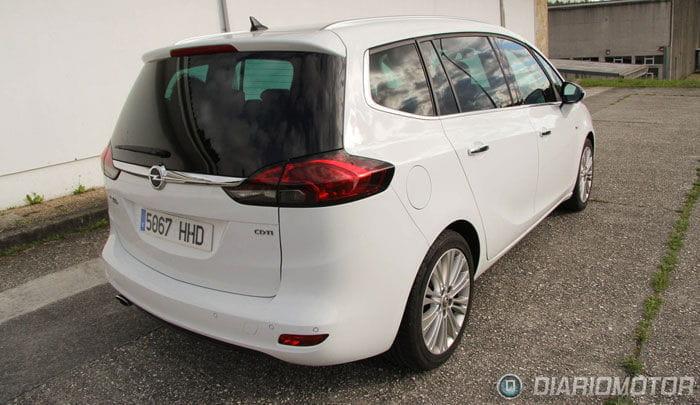 Opel Zafira Tourer 2.0 CDTI Excellence, a prueba. Exterior