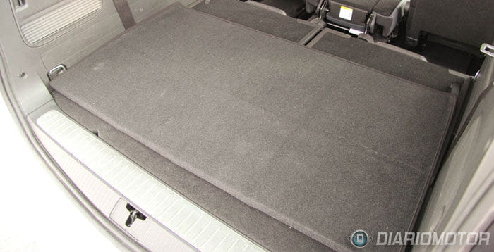 Opel Zafira Tourer 2.0 CDTI Excellence, a prueba. Maletero