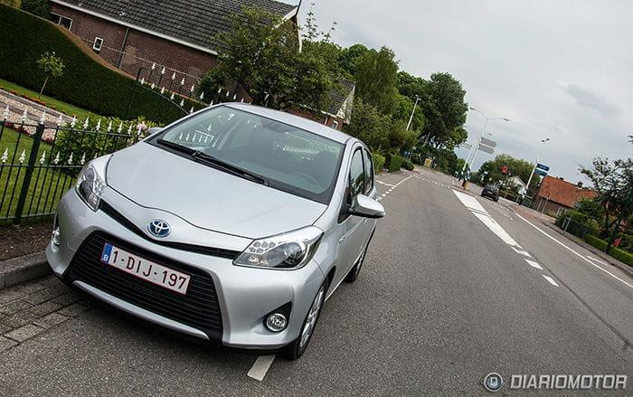 Toyota Yaris Hybrid, prueba en Ámsterdam