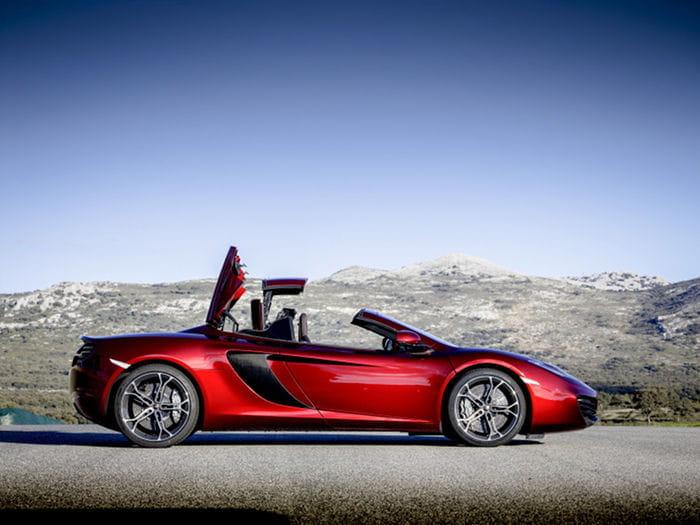McLaren 12C Spider: llega el descapotable de Woking