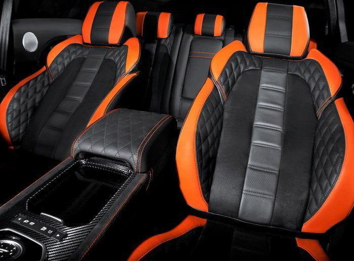 Range Rover Evoque Vesuvius por Kahn Design