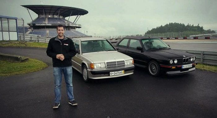 BMW M3 E30 contra Mercedes-Benz 190E 2.3 16v