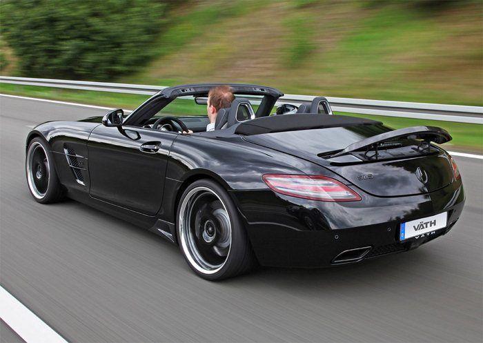 Mercedes SLS AMG Roadster por VÄTH