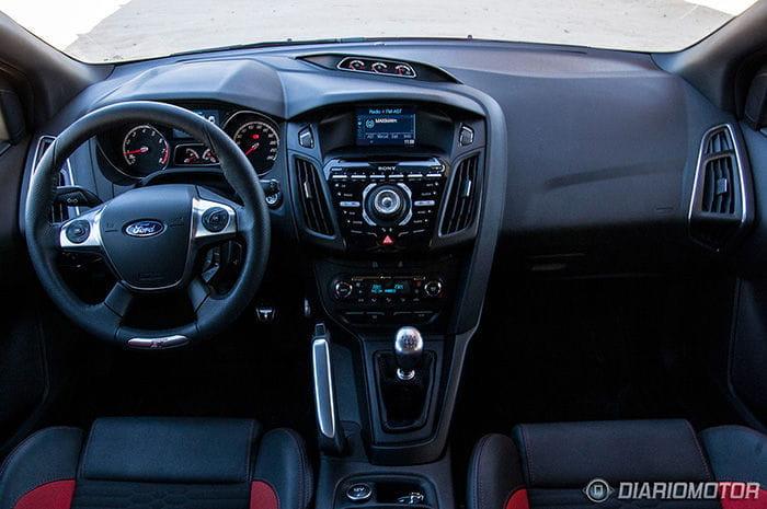 Prueba del Ford Focus ST Sportbreak - Interior