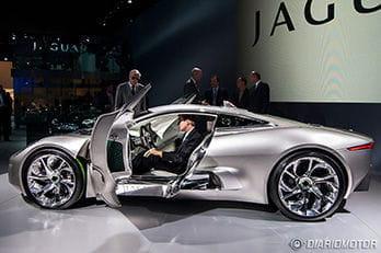Jaguar C-X75 en París