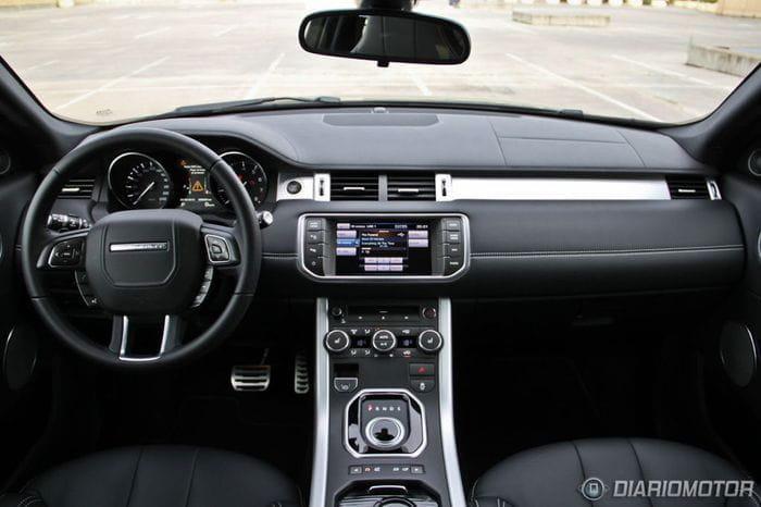 Range Rover Evoque Coupé Si4 Dynamic, a prueba (III)