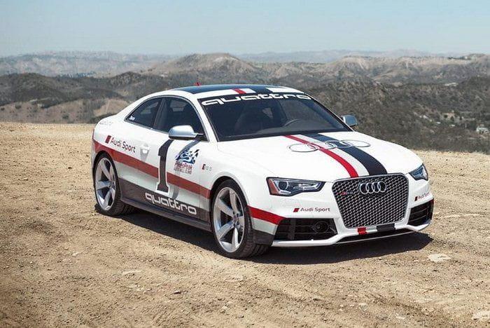 Audi RS5 Pikes Peak 2012