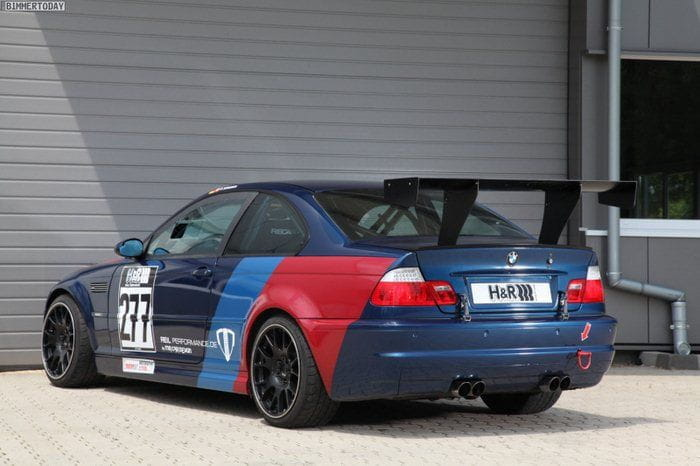 BMW M3 E46 CSL por MR Car Design y Reil Perfomance