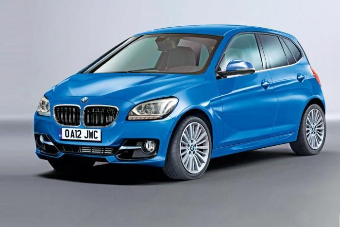 BMW Serie 1 GT render