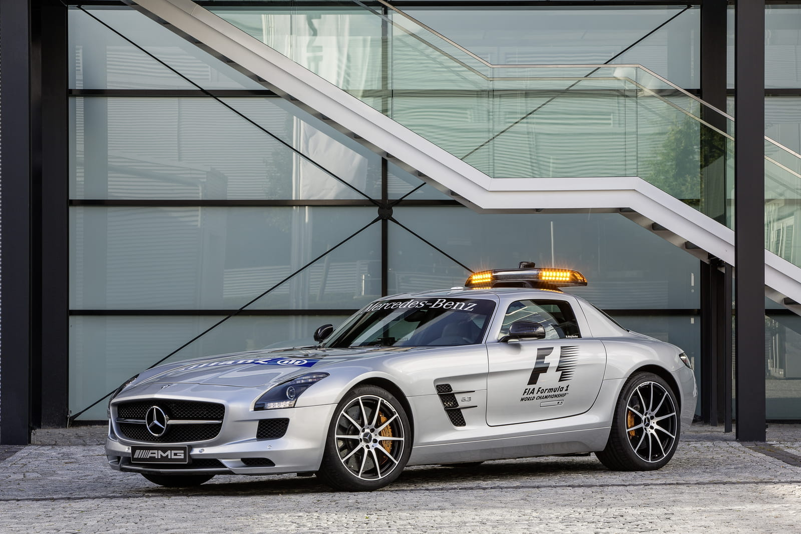 Mercedes Benz Sls Amg Gt Safety Car El Coche De Seguridad