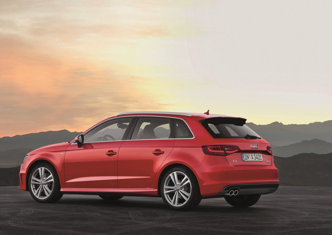 audi a3 sportback 2013 llega la carrocer a sportback a la. Black Bedroom Furniture Sets. Home Design Ideas