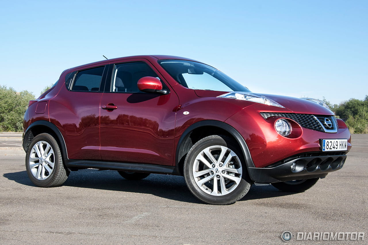 nissan juke 1 6 dig t 190 cv 4 2 prueba del motor dig turbo diariomotor. Black Bedroom Furniture Sets. Home Design Ideas