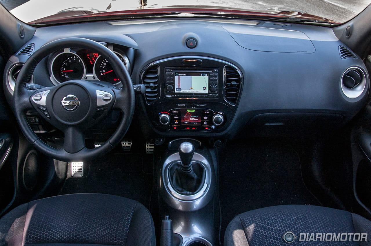 Foto 6 de 49 nissan juke 1 6 dig t 190 cv 4 2 prueba for Nissan juke interieur