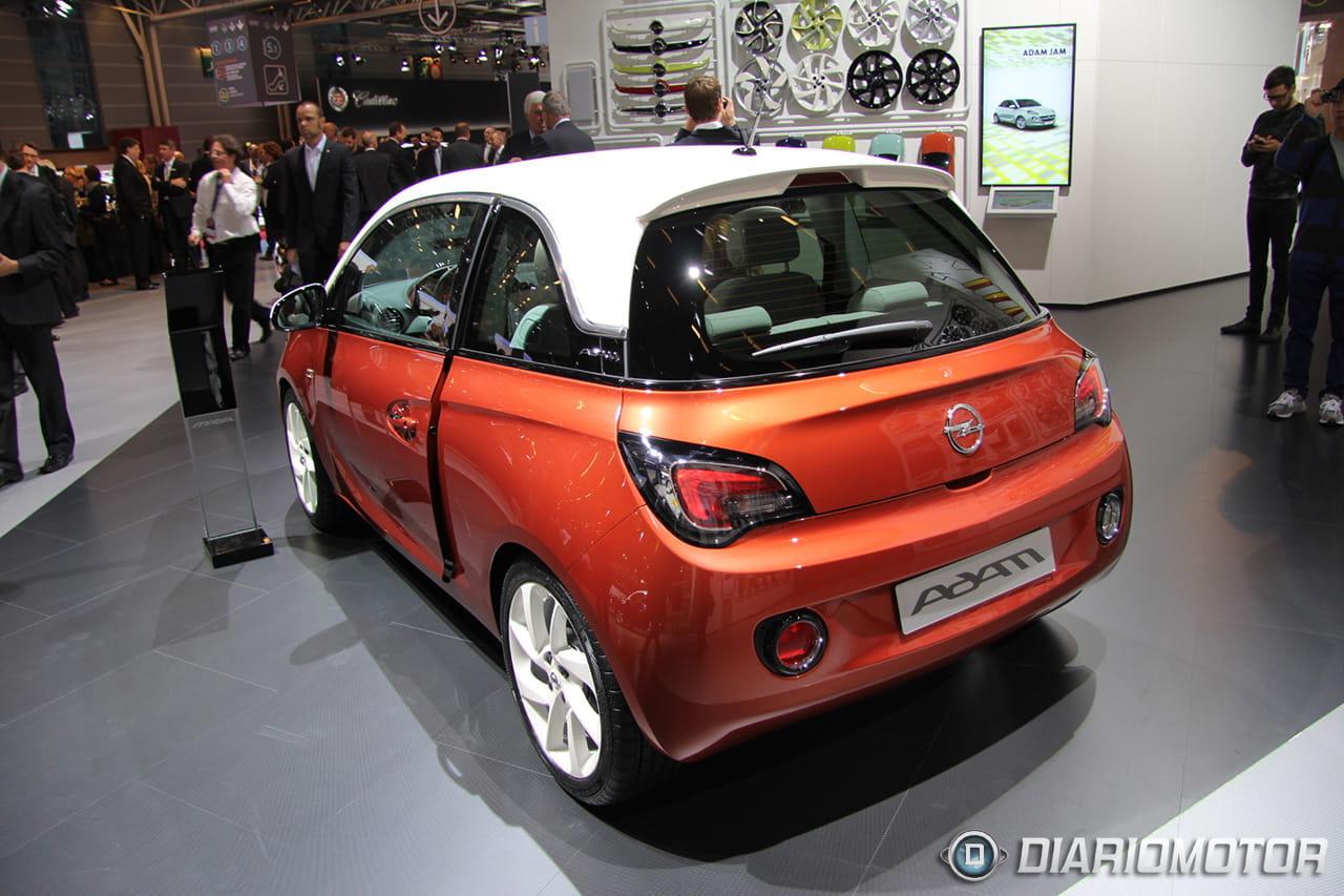 Opel adam en el sal n de par s 2012 un urbano muy coqueto for Garage opel paris 12