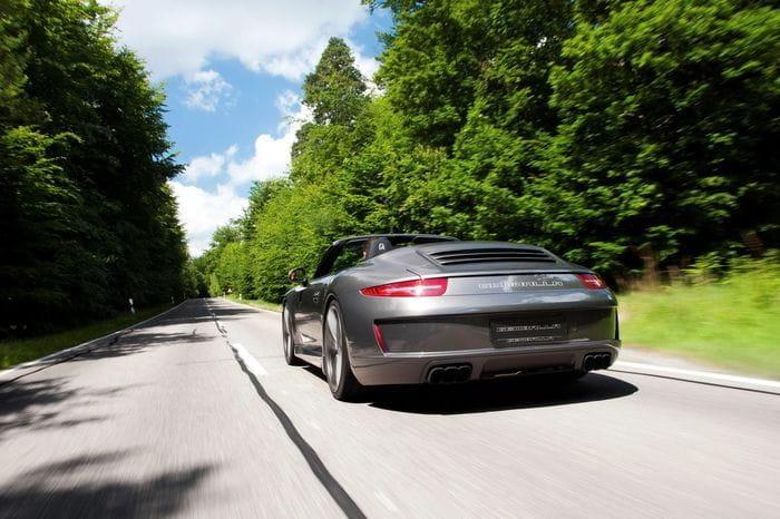 El Porsche 911 Cabriolet S de Gemballa es sorprendentemente atractivo