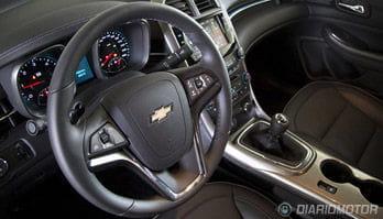 Interior de Chevrolet Malibu