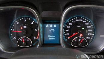 Cuadro de mandos del Chevrolet Malibu