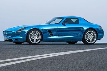 Mercedes SLS AMG Coupé Electric Drive