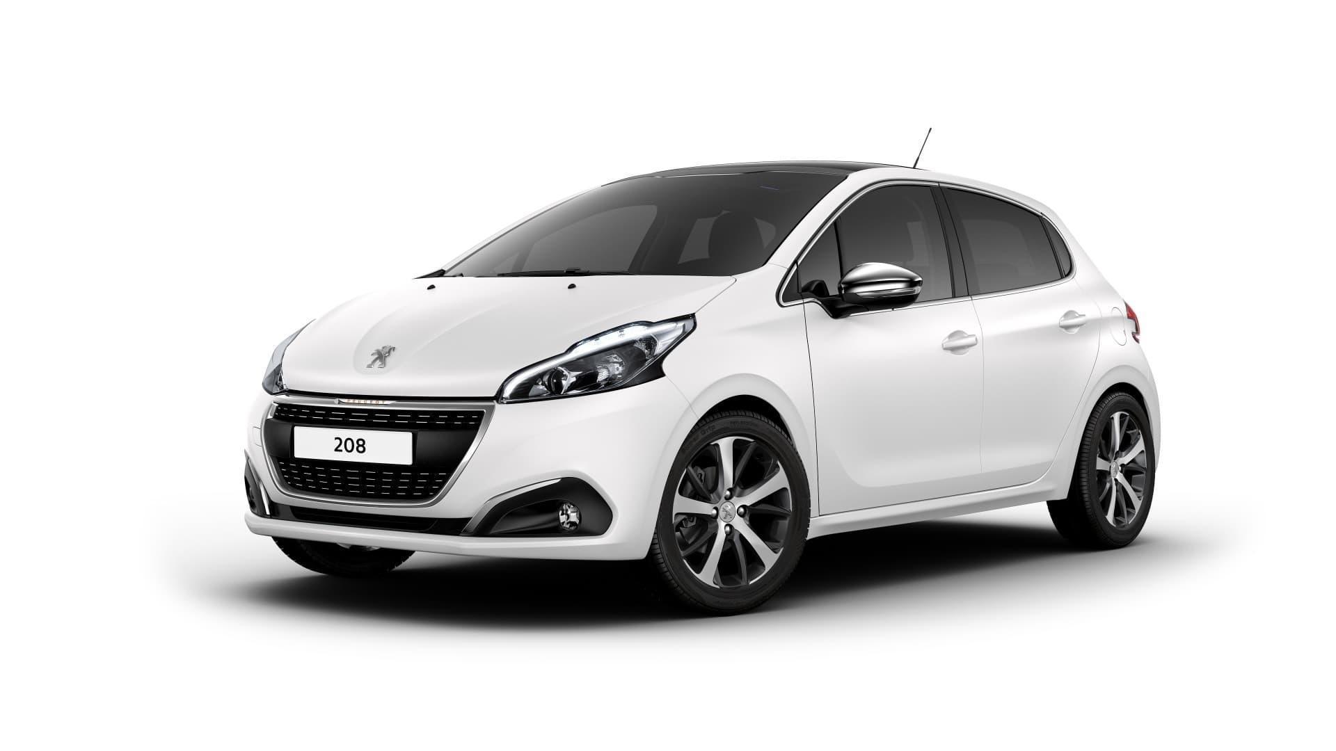 923874 Peugeot 208 Ice White