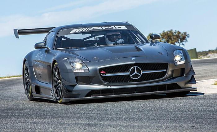 Mercedes sls amg gt3 45 aniversario un deportivo de for Mercedes benz deportivo
