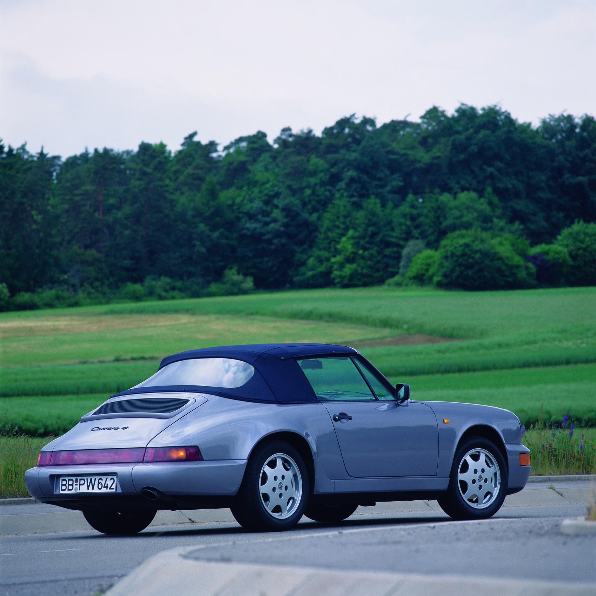 Porsche 911 964 Carrera 4 3 6 Cabriolet 1990