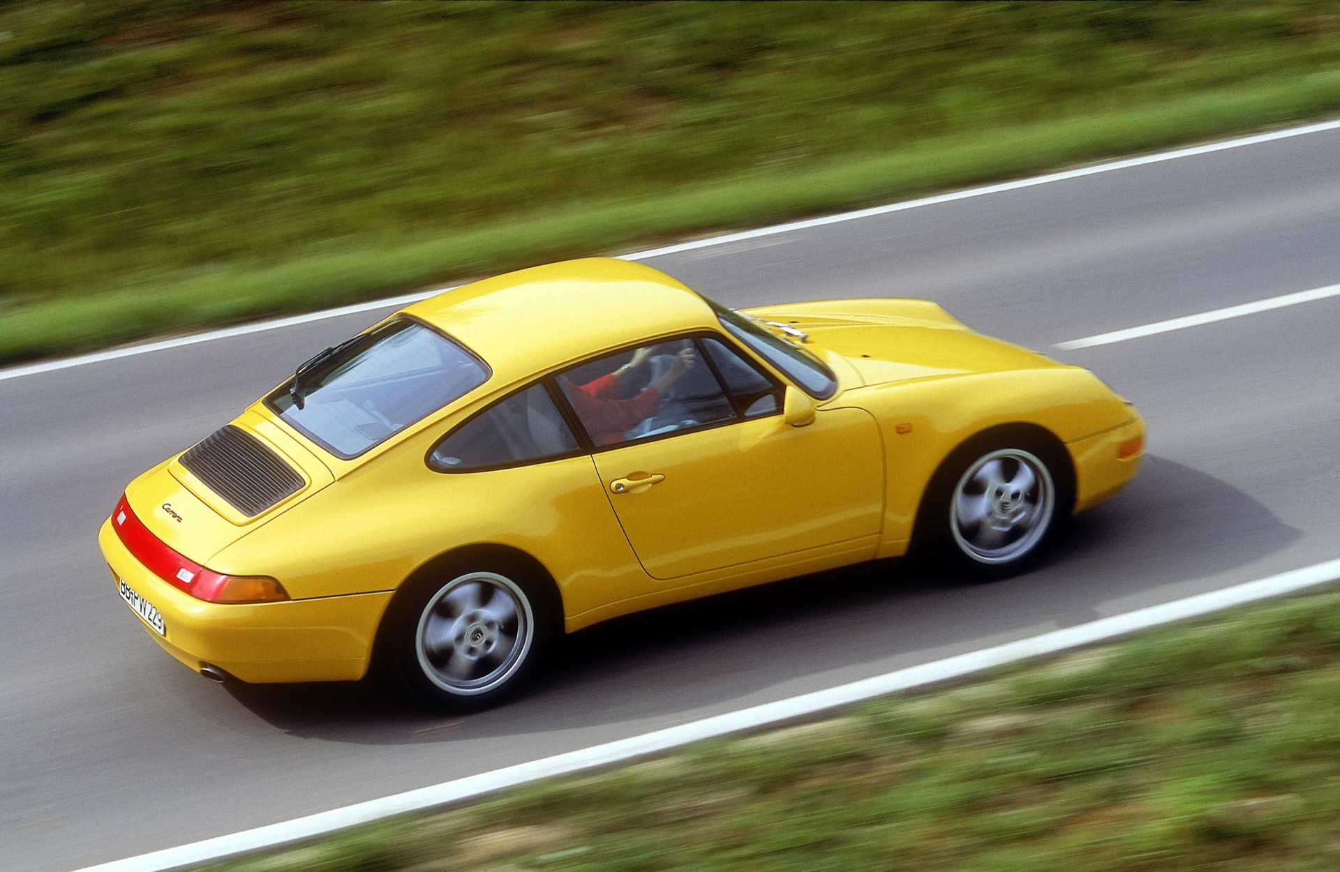 1994, 911 Carrrea Coupé, Typ 993, 3,6 Liter, Generationen