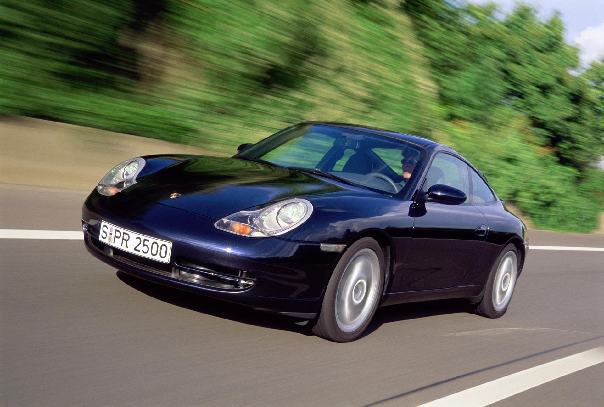 2001, 911 Carrera Coupé, Typ 996, 3,4 Liter, Generationen