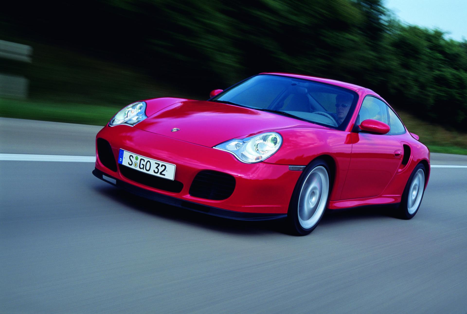Porsche 911 996 Turbo 2004