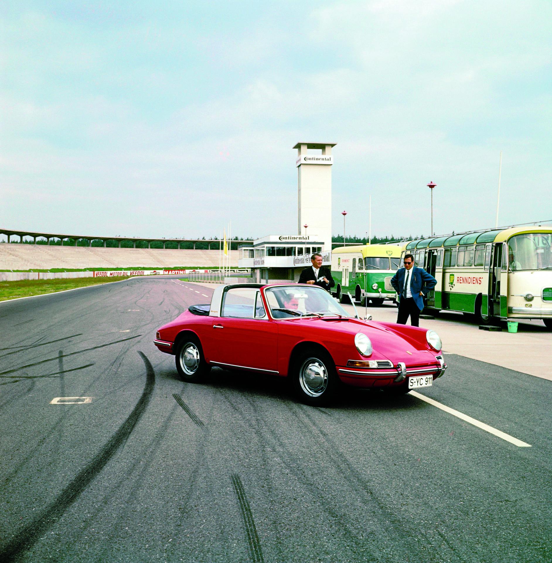 Porsche 911 Targa 1967 El Primer Targa