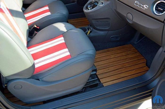 Fiat 500 Beach Cruiser, un pequeño hot-rod para ir a la playa