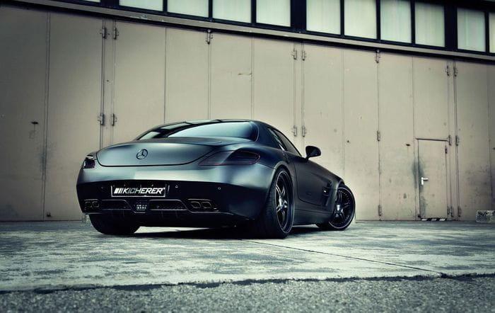 Kicherer Mercedes SLS AMG Supercharged GT, Hannibal Lecter está suelto