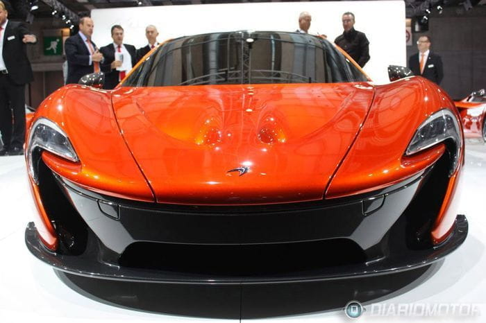 McLaren en el Salón de París
