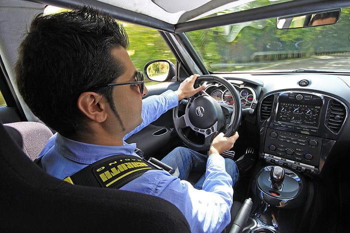 Prueba del Nissan Juke-R
