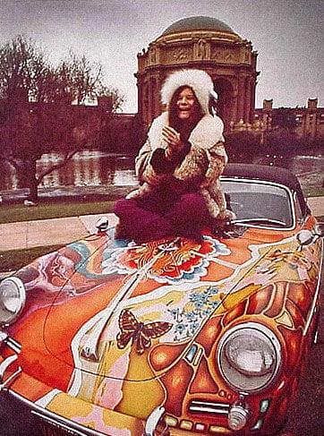 El Porsche 356 de Janis Joplin, icono de una década mágica