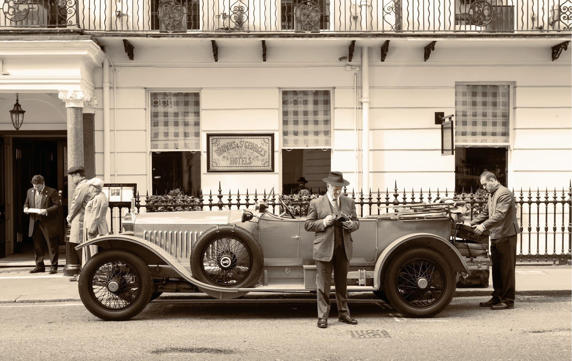 Rolls Royce Silver Ghost Alpine Eagle