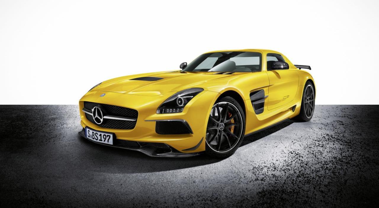 Gallería fotos de Mercedes SLS AMG