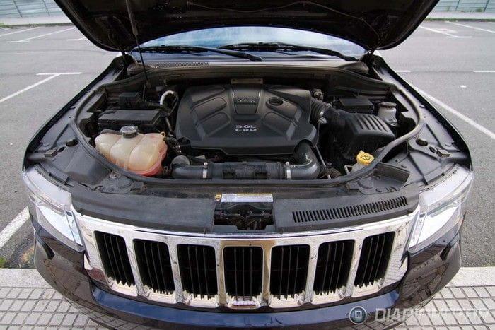 jeep grand cherokee 3 0 crd limited a prueba ii motor y. Black Bedroom Furniture Sets. Home Design Ideas