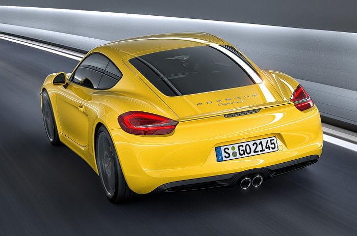 Filtradas las imágenes oficiales del Porsche Cayman