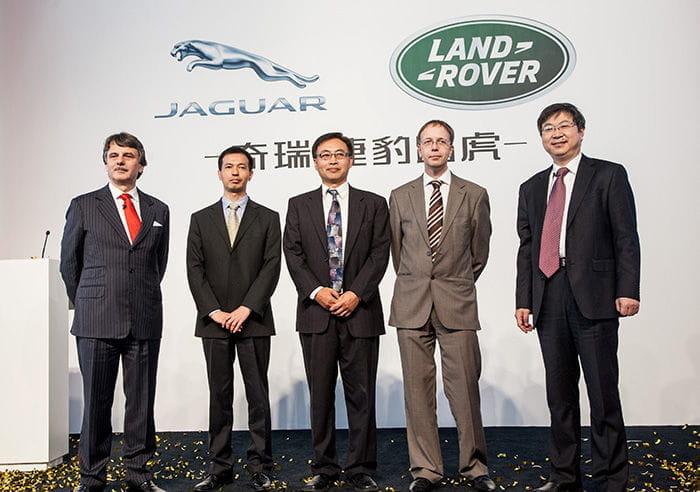 Jaguar-Land Rover y Chery