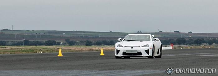 Lexus LFA Prueba de velocidad