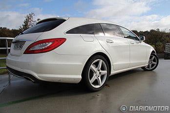 Mercedes CLS Shooting Brake, mini prueba