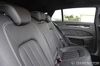Mercedes CLS 350 Shooting Brake, mini prueba