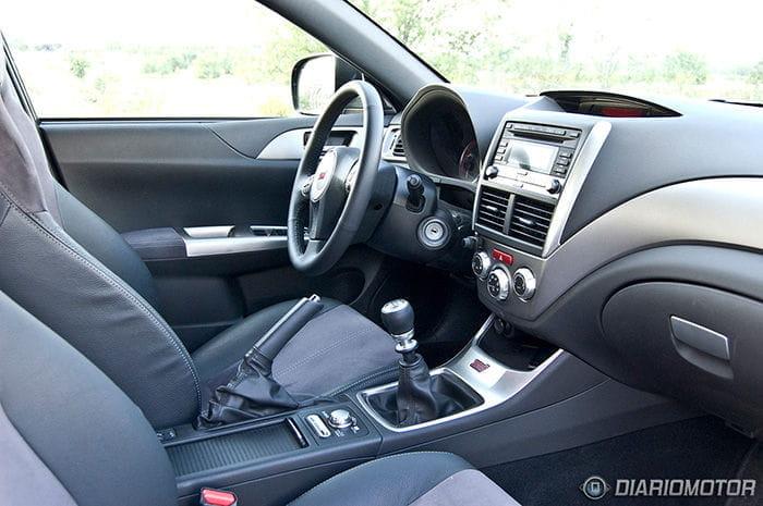 Prueba del Subaru Impreza STI