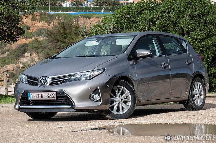 Toyota Auris 2013 Prueba en Lisboa