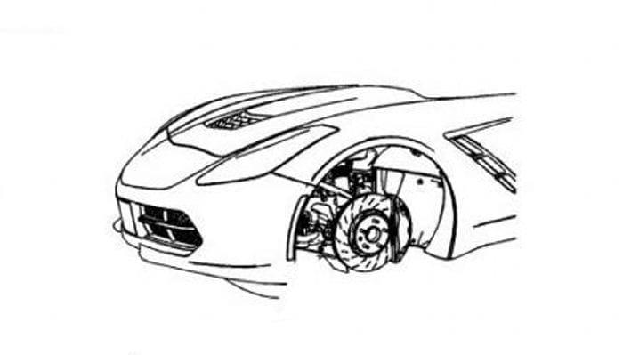 destapado el frontal del nuevo chevrolet corvette